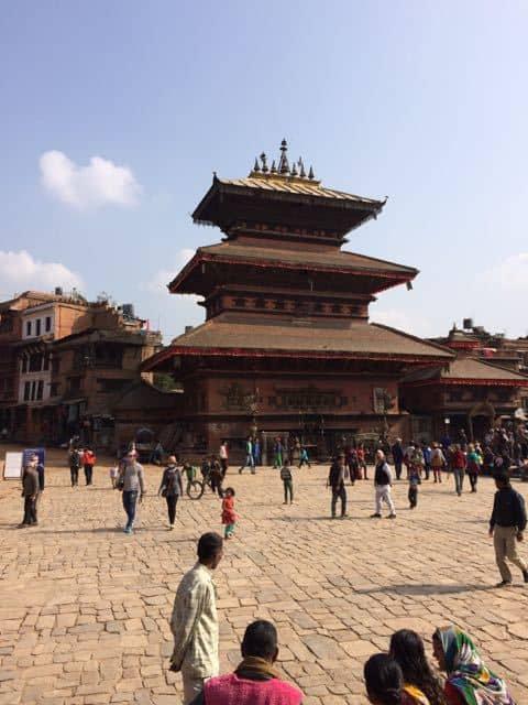 Temple-in-Kathmandu