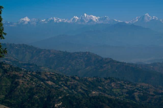 The-Himalaya-From-Dhulikel-Nepal