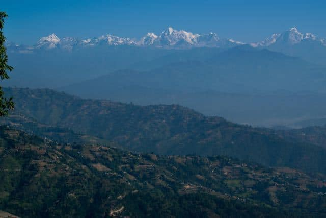 The-Himalaya-From-Dhulikel-Nepal