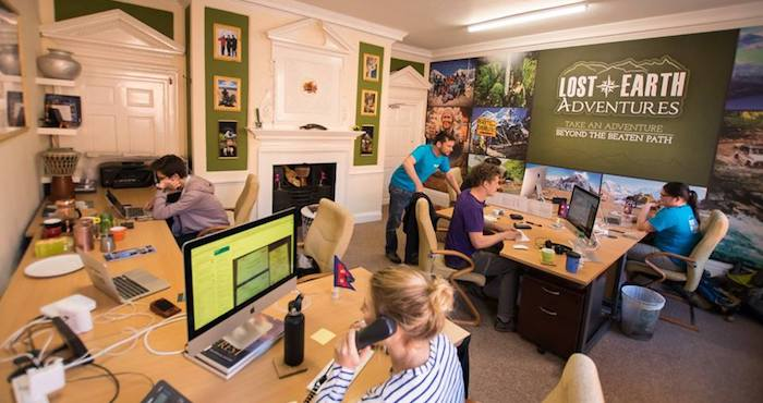 The Lost Earth Adventures Office