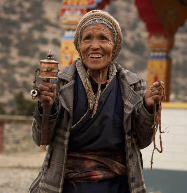 tibetan-lady