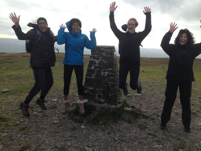 Top of Ingleborough