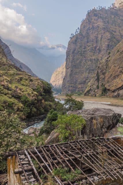 Trail around Manaslu