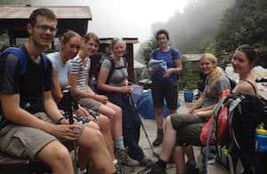 Trekking group Annapurna Base Camp