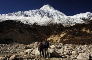 View of Manaslu