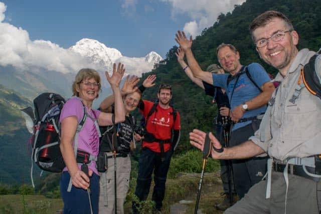 Trekking-to-Annapurna-Sanctuary-Nepal