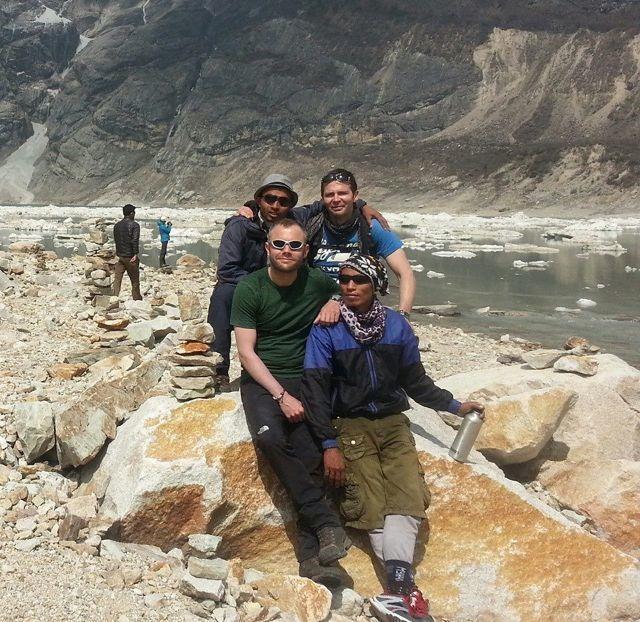 Trekking to Manaslu Base Camp