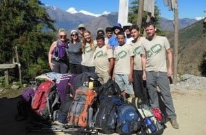 Langtang trekking group