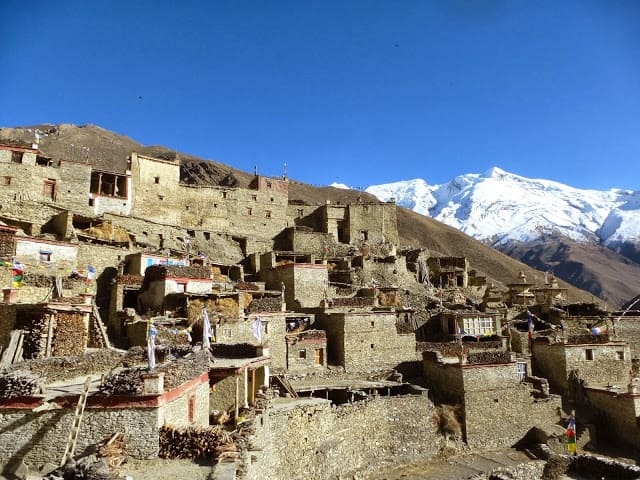 Typical Himalayan Houses