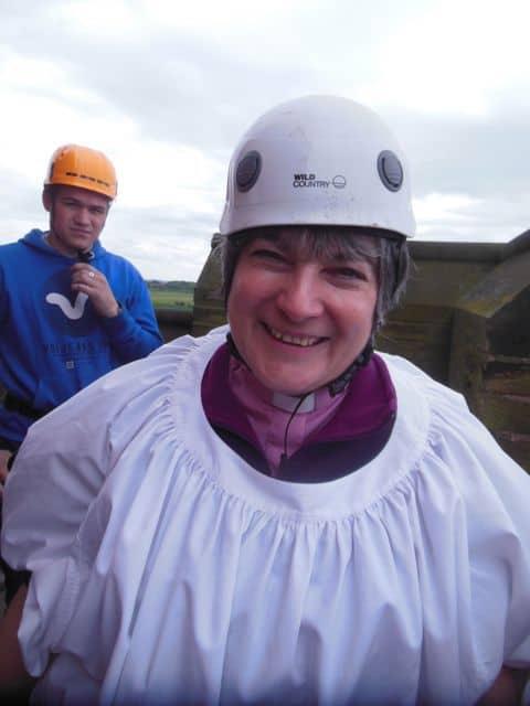 Vicar raising money for the church