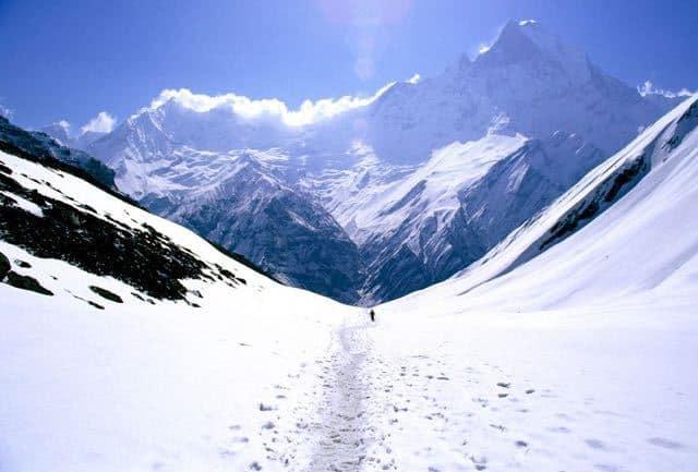 Walk to Annapurna Base Camp