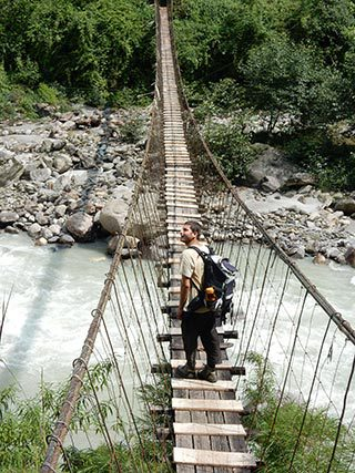 Wooden-Nepali-Bridge