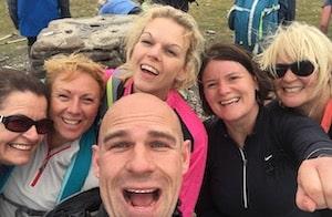 Yorkshire 3 Peaks weekend group