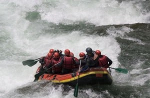 serious rapids