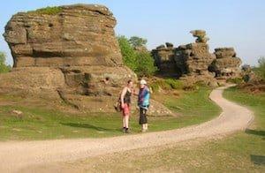 Rock Climbing Lessons Brimham Rocks
