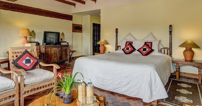 Luxury hotel room in Kathmandu in Nepal
