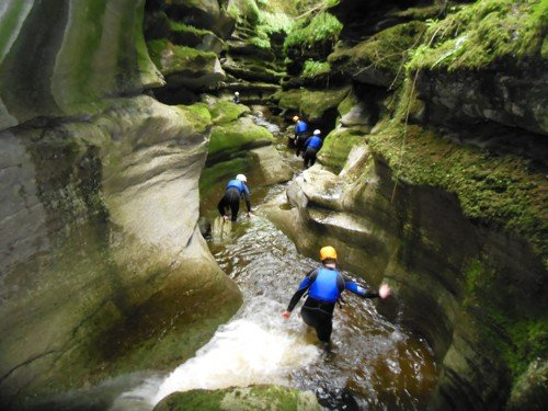 Experience Gorge Walking And Canyoning In Yorkshire