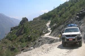 Transport to the Langtang