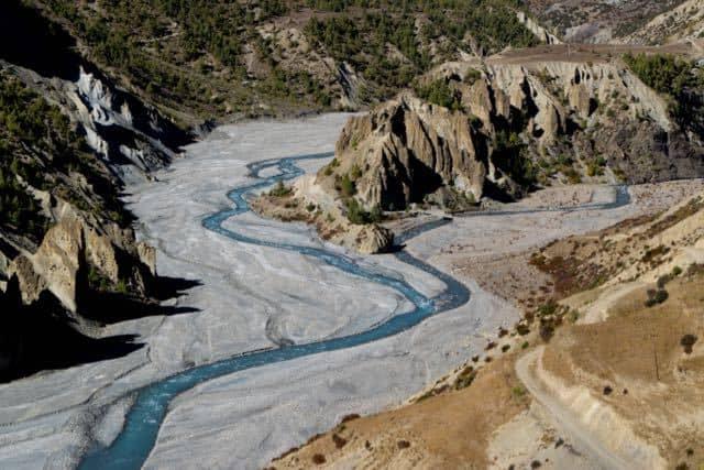 marsyangdi-river