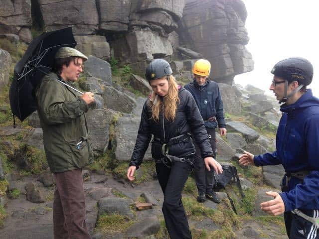 Climbing coach Johnny Dawes