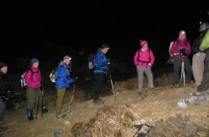trekking-at-night